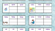 irregular verbs associative method