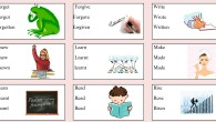 Irregular verbs picture