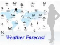 Weather forecast vocabulary