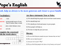 Popes English
