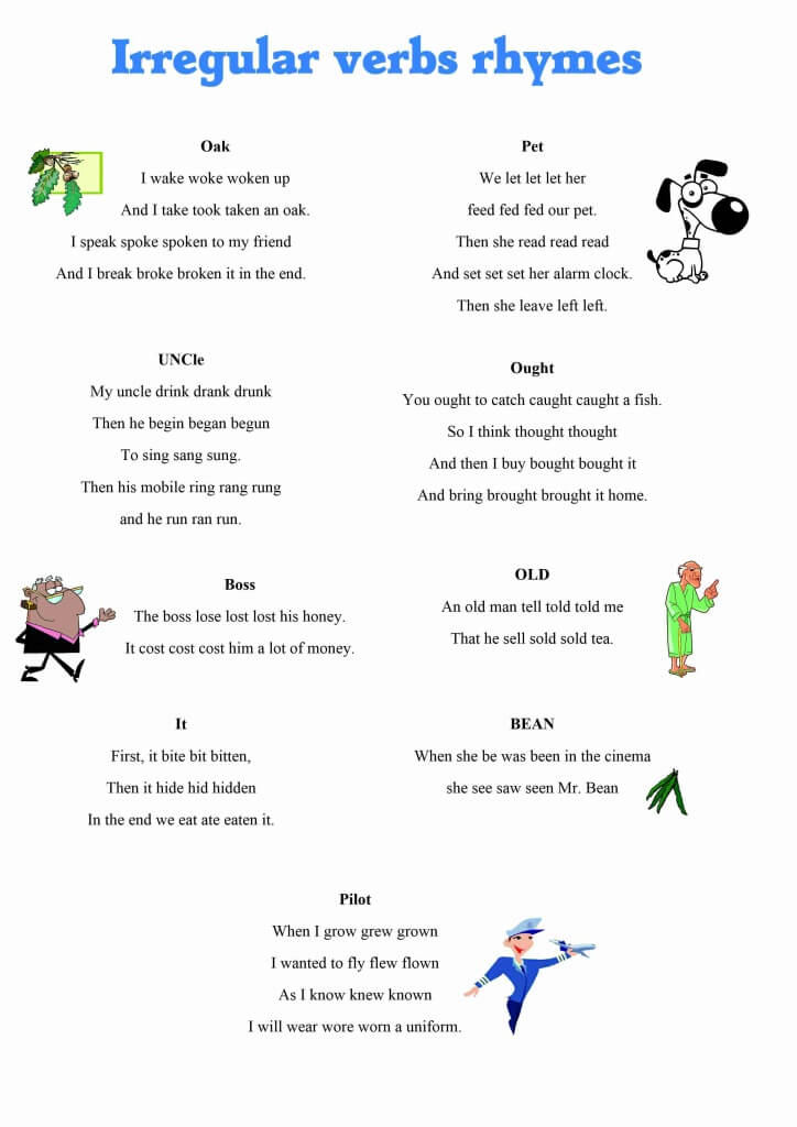 Present perfect and past simple teach this