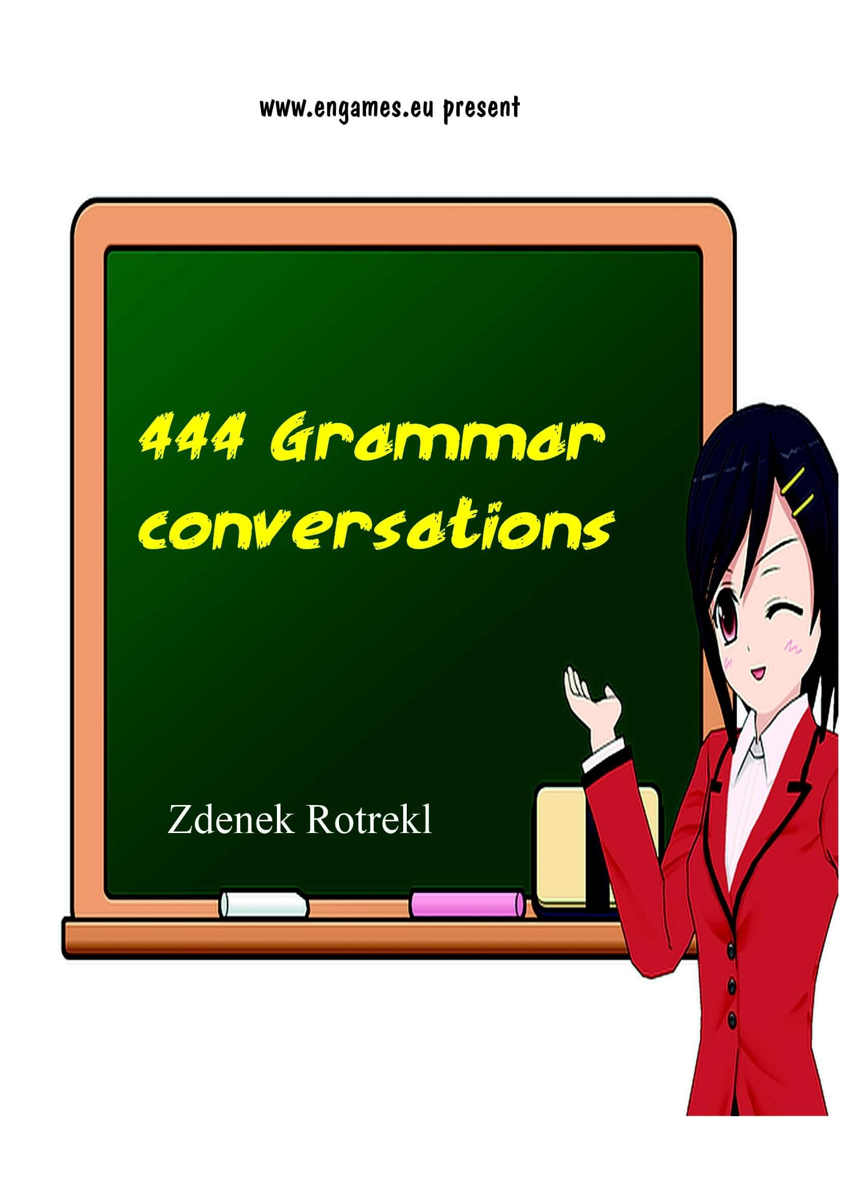 444 grammar conversations cover