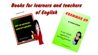 Books for learners and teachers of English