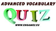 Advanced vocabulary quiz