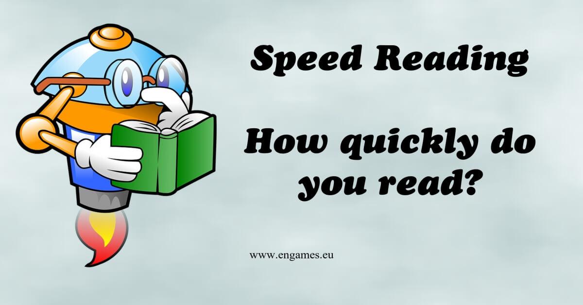Speed reading fb
