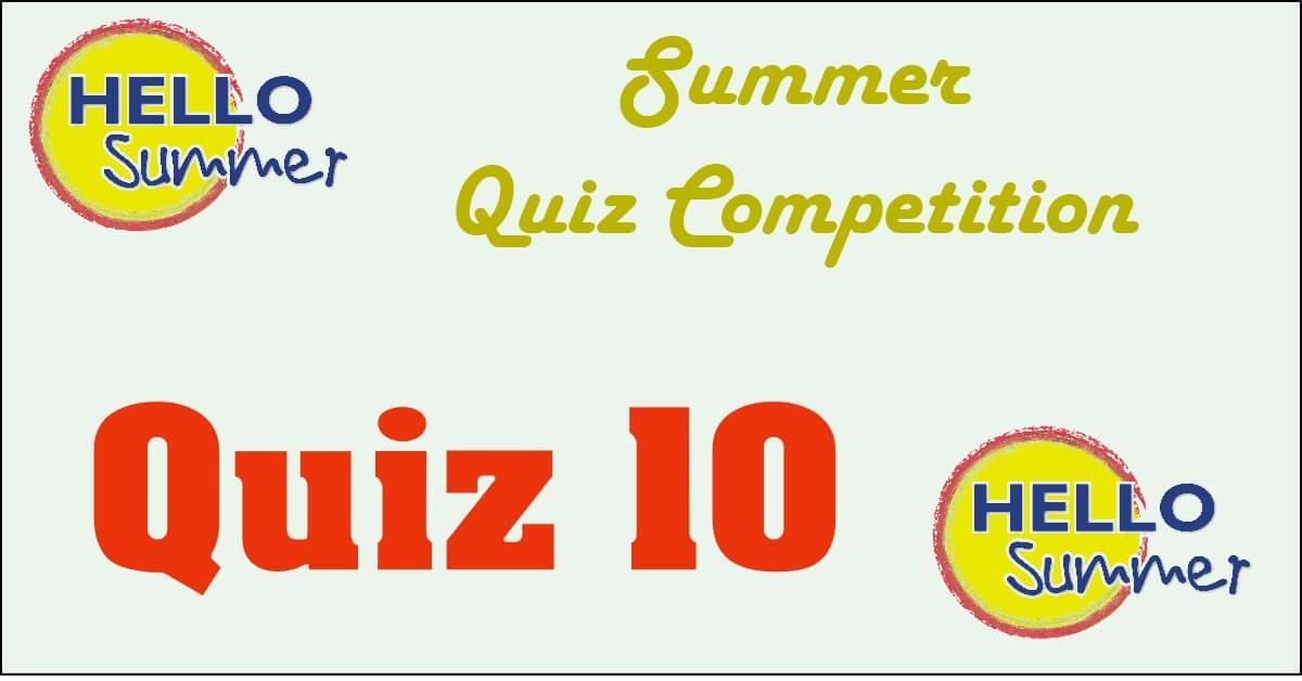 Competition quiz 10