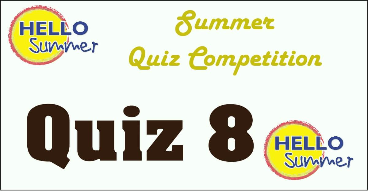 Competition quiz 8