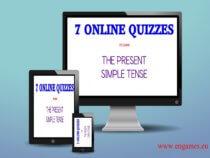 seven online quizzes cover