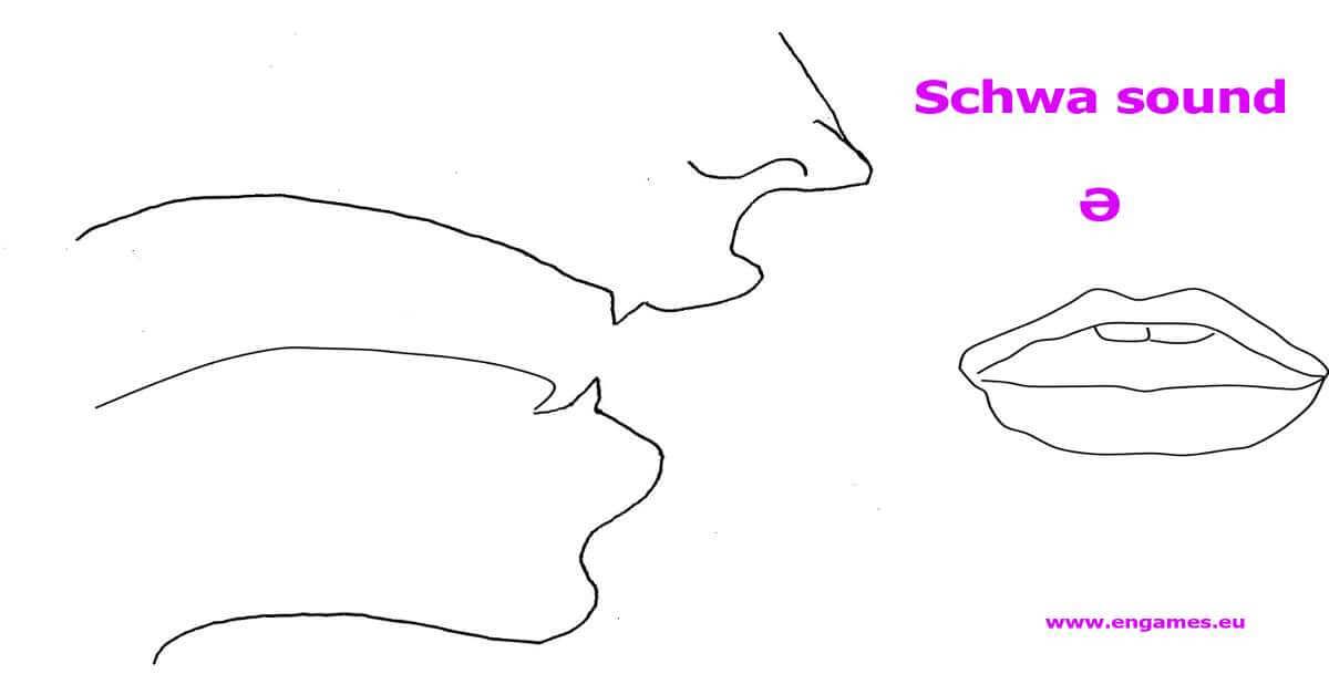 pronunciation of the schwa sound