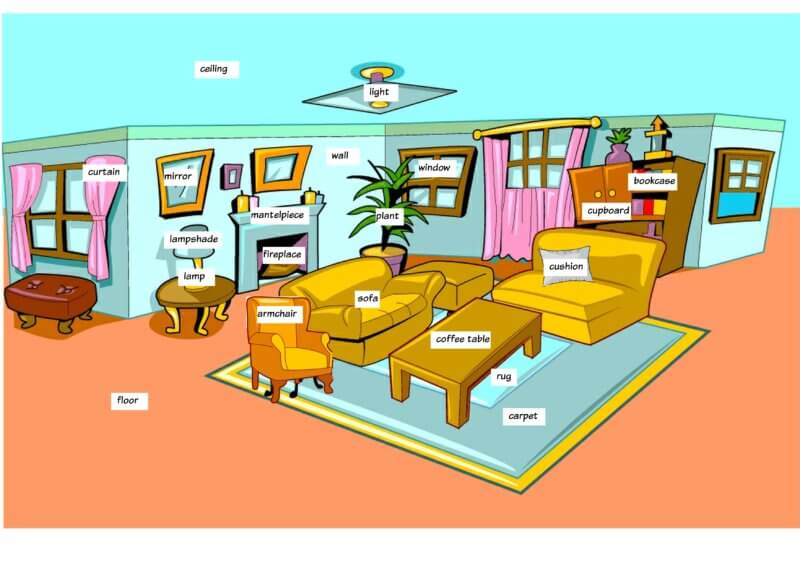 vocabulary living room living room vocabulary to learn to 10609
