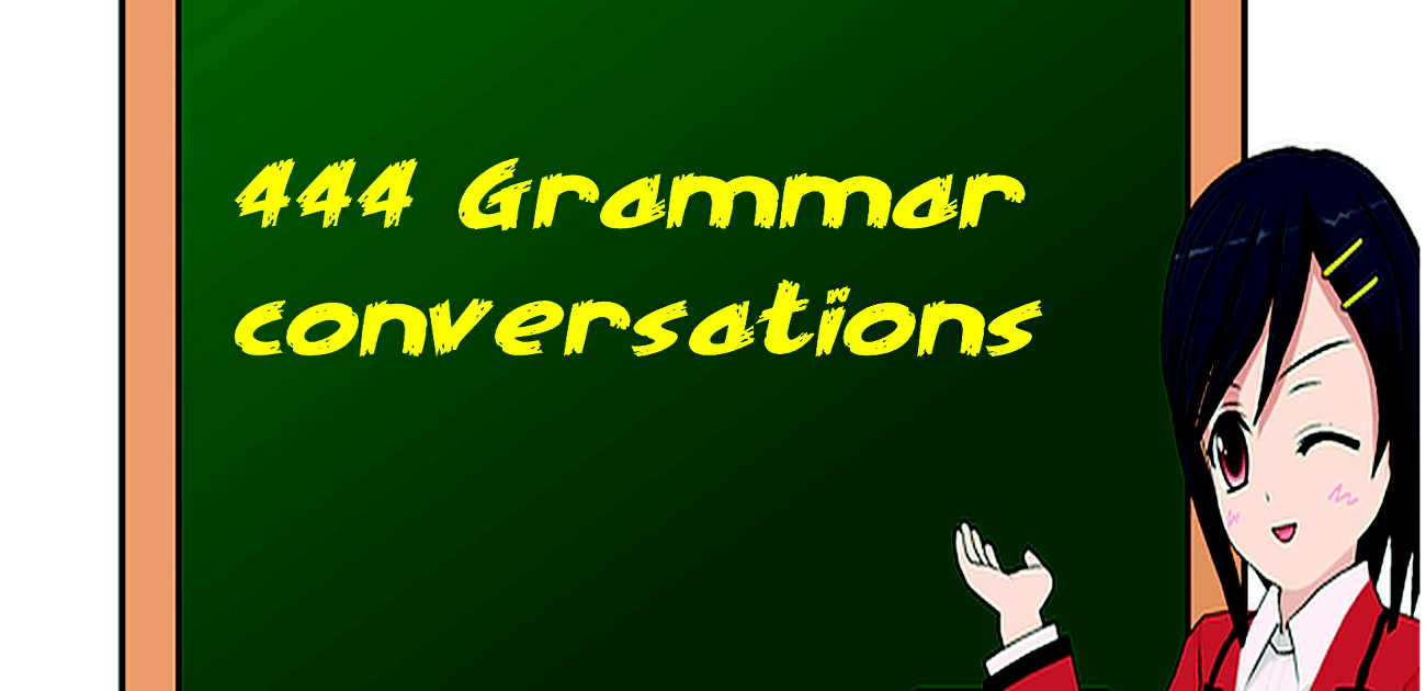 444 Grammar conversations free book