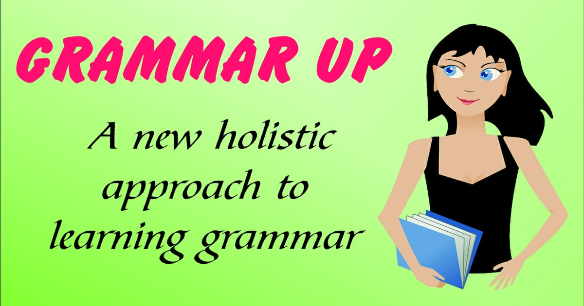 grammar up book cover
