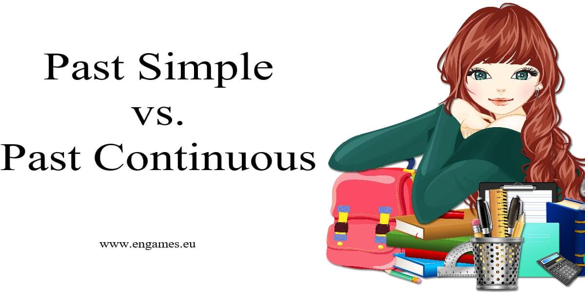 Past simple vs past continuous grammar