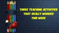three teaching activities