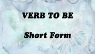 Verb to be short form feature