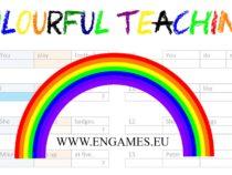 Colourful teaching