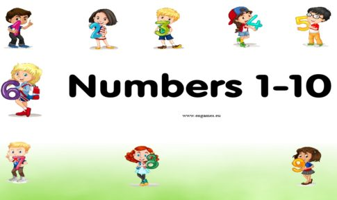 A set of activities to learn the numbers from 1 to 10