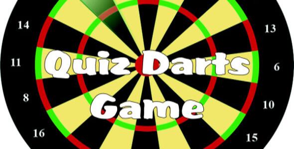 Quiz Darts game